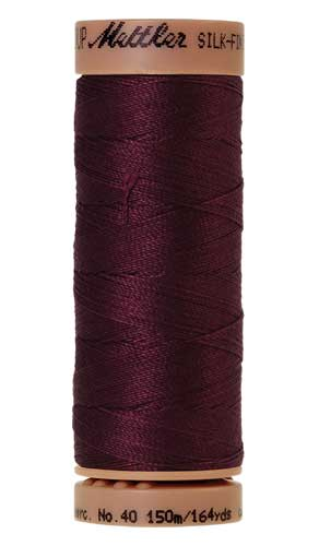 0109 - Bordeaux Silk Finish Cotton 40 Thread