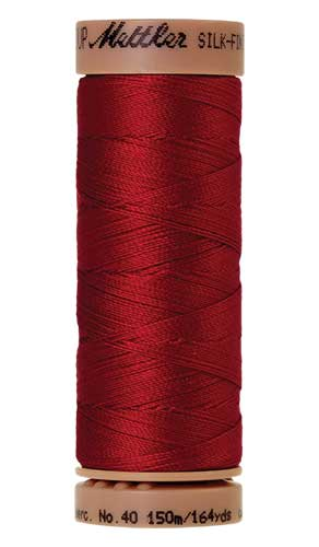 0504 - Country Red Silk Finish Cotton 40 Thread