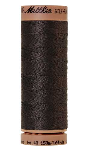 1282 - Charcoal Silk Finish Cotton 40 Thread