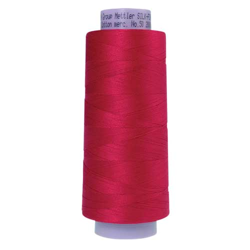 0102 - Poinsettia Silk Finish Cotton 50 Thread - Large Spool