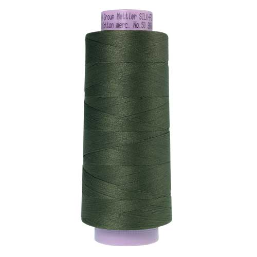 0731 - Burnt Olive Silk Finish Cotton 50 Thread - Large Spool