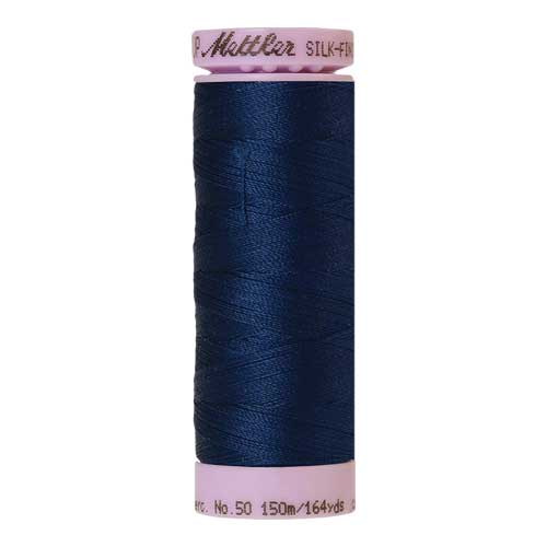 0823 - Night Blue Silk Finish Cotton 50 Thread