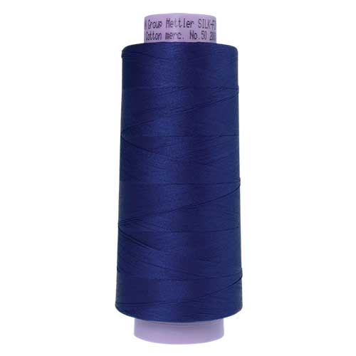 1304 - Imperial Blue Silk Finish Cotton 50 Thread - Large Spool