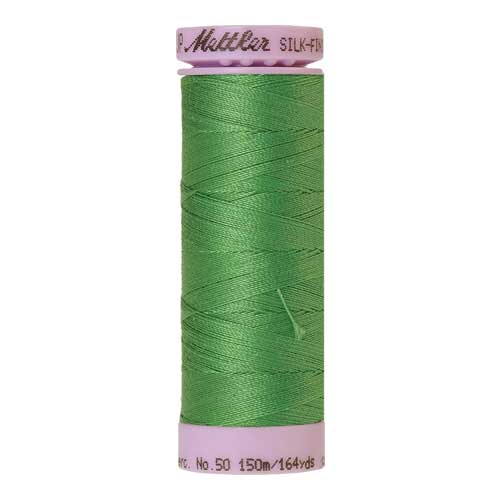 1314 - Vibrant Green Silk Finish Cotton 50 Thread