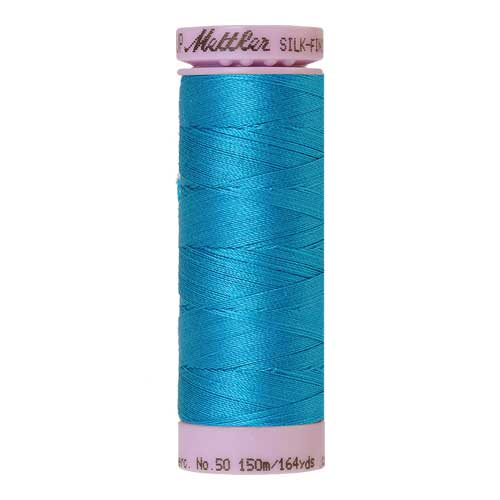 1394 - Caribbean Blue Silk Finish Cotton 50 Thread