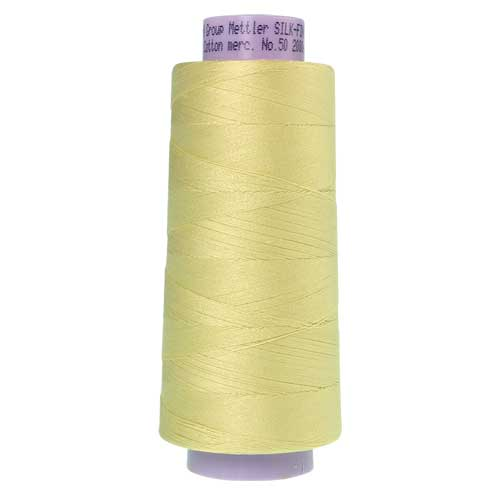 1412 - Lemon Frost Silk Finish Cotton 50 Thread - Large Spool