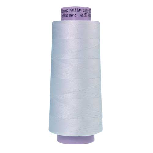 2000 - White Silk Finish Cotton 50 Thread - Large Spool
