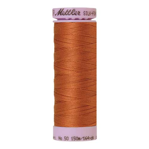 2103 - Amber Brown Silk Finish Cotton 50 Thread