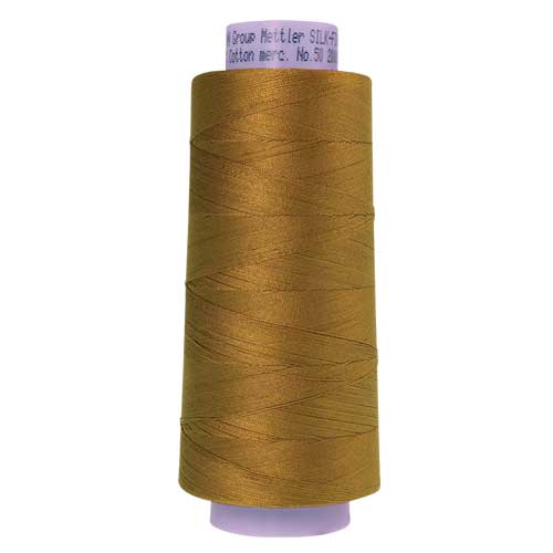 3514 - Bronze Brown Silk Finish Cotton 50 Thread - Large Spool