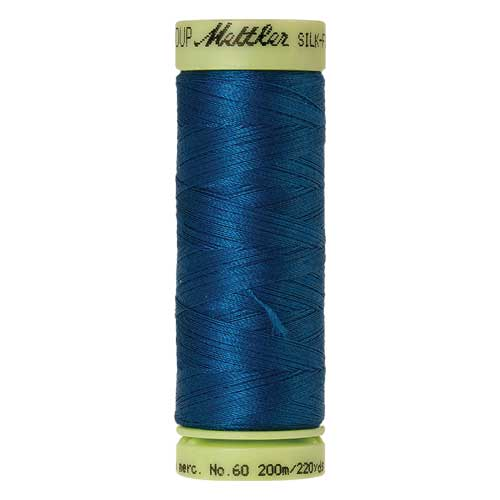 0024 - Colonial Blue Silk Finish Cotton 60 Thread