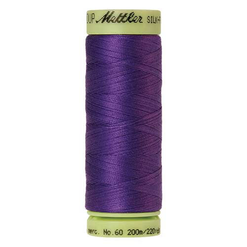 0030 - Iris Blue Silk Finish Cotton 60 Thread