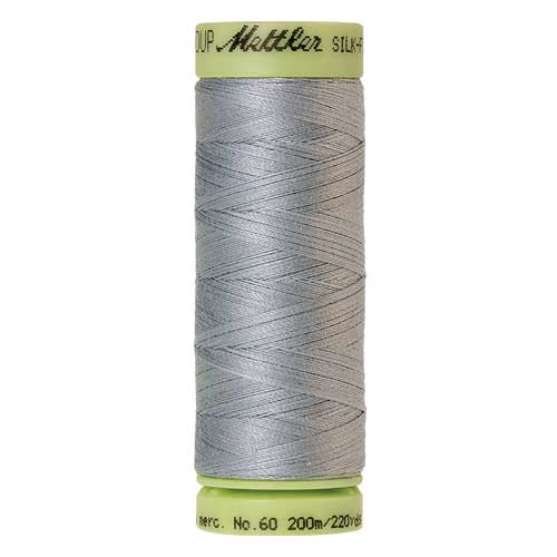 0042 - Ash Blue Silk Finish Cotton 60 Thread
