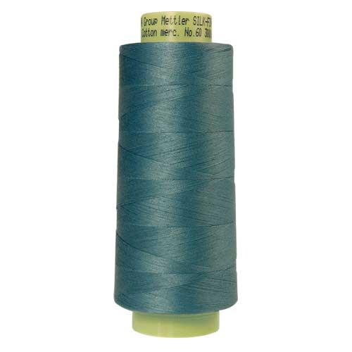 0338 - Reef Blue Silk Finish Cotton 60 Thread - Large Spool
