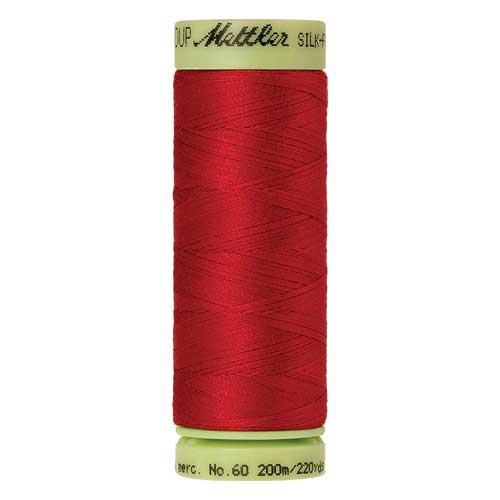 0504 - Country Red Silk Finish Cotton 60 Thread