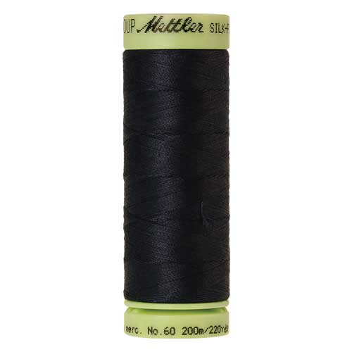 1243 - Black Iris Silk Finish Cotton 60 Thread