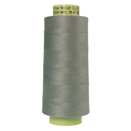 1340 - Silvery Gray Silk Finish Cotton 60 Thread - Large Spool