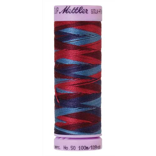 9816 - Berry Rich  Silk Finish Cotton Multi 50 Thread