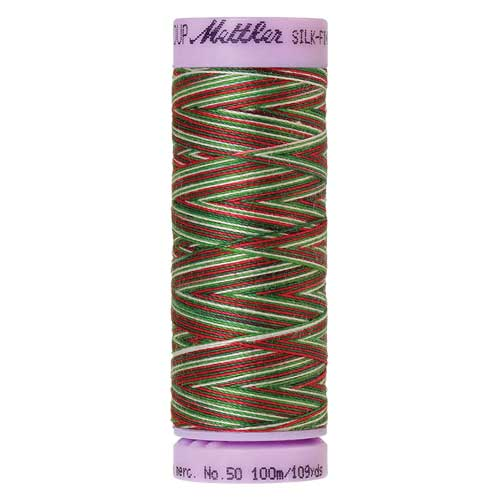 9825 - Seasons Greetings  Silk Finish Cotton Multi 50 Thread