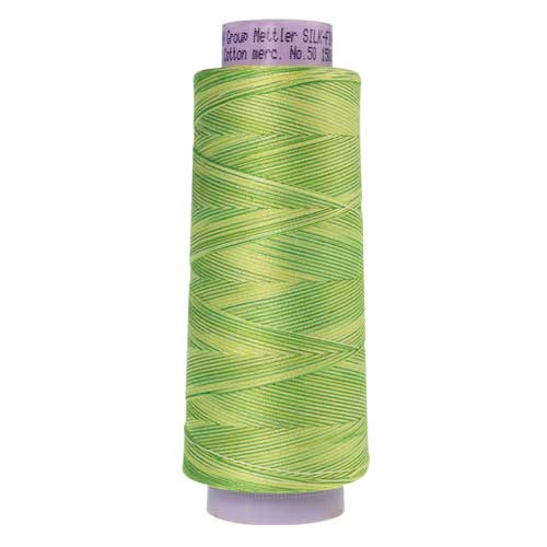 9830 - Citrus Twist  Silk Finish Cotton Multi 50 Thread - Large Spool