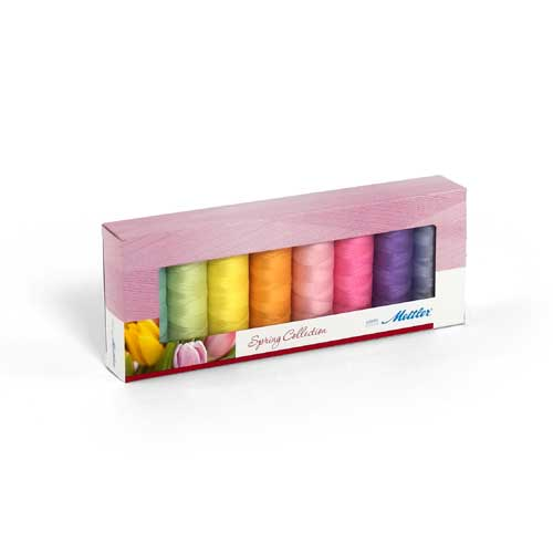 SFC8-Spring - Silk Finish Cotton Spring Thread Set