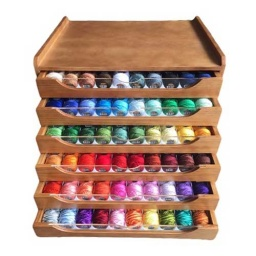 Perle Embroidery Yarn Cabinet