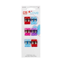 610180 - Prym Love - Fabric Clips - 2.6 cm