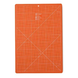 611466 - Orange Cutting Mat cm/inch - 35 x 45cm