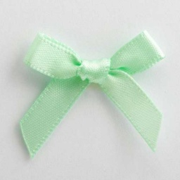 SB3T-7922 - Mint Green Satin Bow (3cm)
