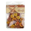 BL47.000.3508 - Graceful Giraffe Themed Buttons