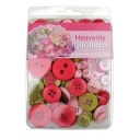 BL47.000.3511 - Heavenly Hydrangeas Themed Buttons