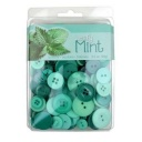 BL47.000.3505 - Leafy Mint Themed Buttons