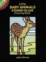 Little Baby Animals Stained Glass Colouring Book