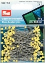 029153 - Prym Extra Long Yellow Glass Headed Pins
