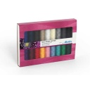 SFC18 - Silk Finish Cotton 18 Spools Thread Set