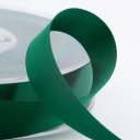 Bottle Green Double Face Satin Ribbon