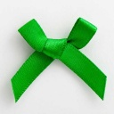 SB3T-7914 - Emerald Satin Bow (3cm)