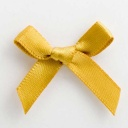 SB3T-7915 - Gold Satin Bow (3cm)
