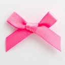 SB3T-7916 - Hot Pink Satin Bow (3cm)